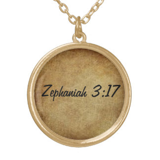 God's promises: gold necklace