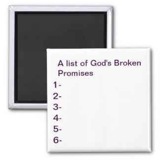 God's promises Magnet