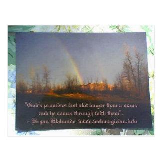 Gods promises Postcard