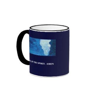 GOD'S PROTECTION - 1118 RINGER COFFEE MUG
