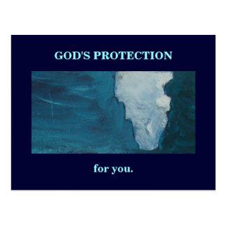 GOD'S PROTECTION POSTCARD