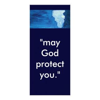 GOD'S PROTECTION RACK CARD