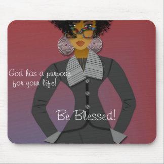 God's Purpose Mouse Pad