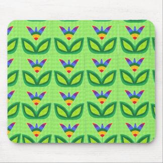 God's Rainbow Garden Mouse Pad