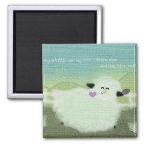 God's Sheep Magnet
