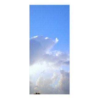 GOD'S Silver Lining in the Clouds Full Color Rack Card