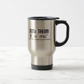 Gods Theory Christian travel mug