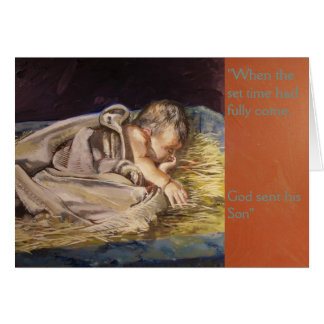"""""""God's Timing"""" Christmas Card"""