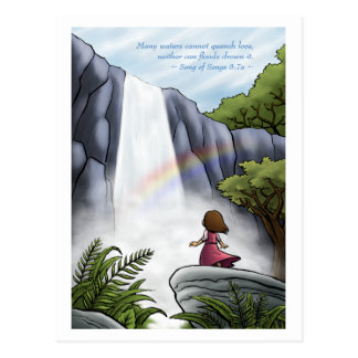 God's Unquenchable Love Postcard