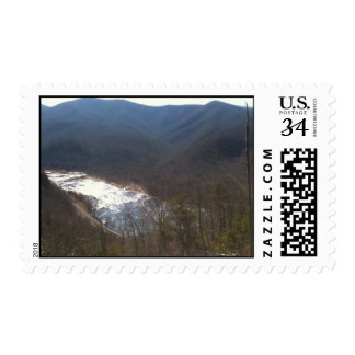 God's View from Heaven Postage Stamp