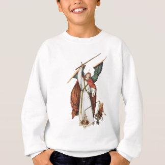 God's Warrior Angle Battle of Good and Evil Sweatshirt