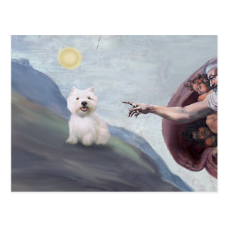God's Westie (#2) Postcards