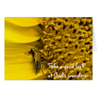 God's Wonders - Psalms 66:5 Card