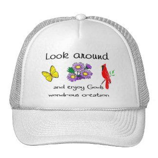 God's wondrous creation trucker hat