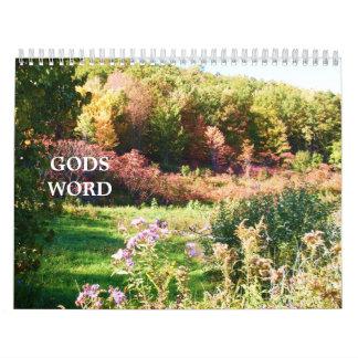 GODS WORD calendar