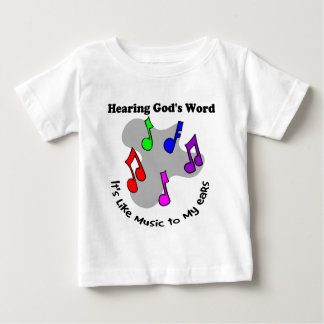 God's word is like music tee shirt