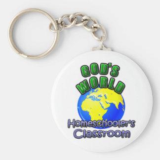 God's World- Homeschooer's Classroom Keychain