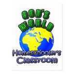 God's World- Homeschooer's Classroom Post Cards