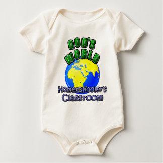 God's World- Homeschooer's Classroom Baby Bodysuits