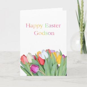 Godson easter gifts on zazzle godson happy easter holiday card negle Choice Image
