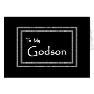 GODSON Page Boy Wedding Invitation Greeting Card