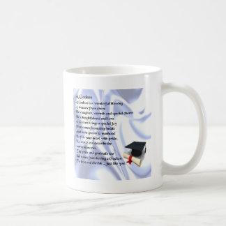 Godson poem - Graduation design Coffee Mug