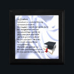 "Godson poem - Graduation design Jewelry Box<br><div class=""desc"">A great gift for a godson on their graduation</div>"