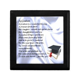 Godson poem - Graduation design Jewelry Box