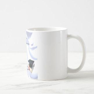 Godson poem - Graduation design Basic White Mug