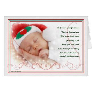 Godson's 1st Christmas | Custom Card