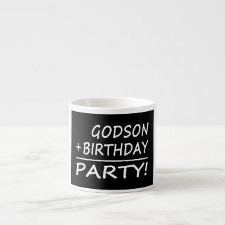 Godsons Birthdays : Godson + Birthday = Party Espresso Cup