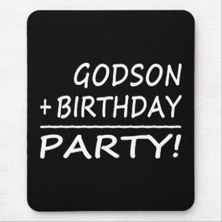 Godsons Birthdays : Godson + Birthday = Party Mouse Pad