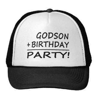 Godsons Birthdays : Godson + Birthday = Party Trucker Hat