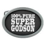 Godsons Gifts : 100% Pure Super Godson Oval Belt Buckles
