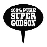 Godsons Gifts : 100% Pure Super Godson Oval Cake Topper