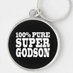 Godsons Gifts : 100% Pure Super Godson Keychains