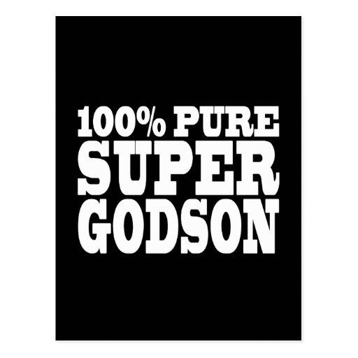 Godsons Gifts : 100% Pure Super Godson Postcards