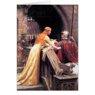 Godspeed Edmund Blair Leighton Greeting Card