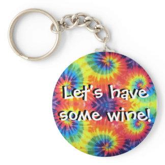 Godspell wine keychain
