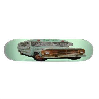 GodsPosse Ol' School Bus Custom Skate Board