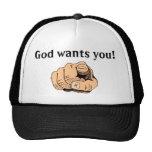 Godwantsyou Trucker Hat