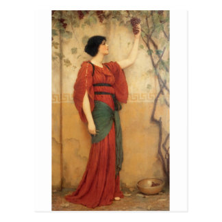 Godward - Autumn 1900b.jpg Postcard