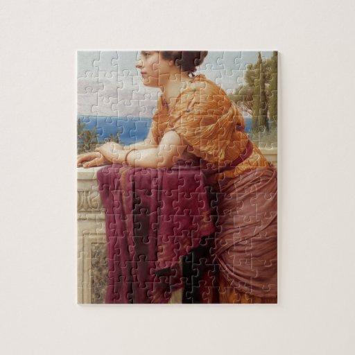 Godward - el belvedere puzzles con fotos