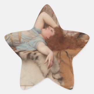 Godward - Mischief and Repose Star Sticker
