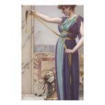 Godward - señora de Pompeiian Papelería De Diseño