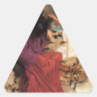 Godward - The Old, Old Story Triangle Sticker