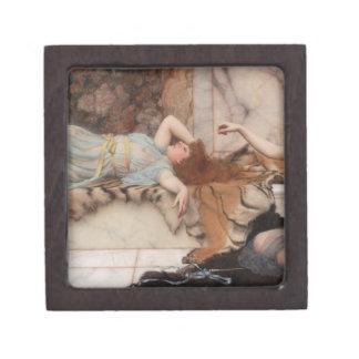 Godward - travesura y descanso caja de joyas de calidad