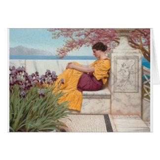 Godward - Under the Blossom that Hangs on the Boug Card