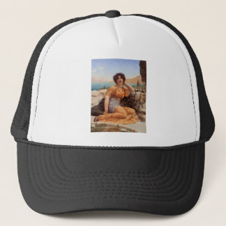 Godward - With Violets Wreathed and Robe of Saffro Trucker Hat