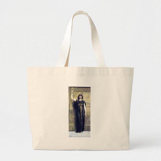 Godward Woman Warrior Guard Jumbo Tote Bag